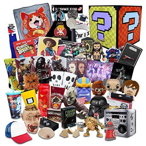 Fan Bundle Top Secret Gargantuan Mystery Box | 35+ Fun Gifts! | Pop Culture Toys