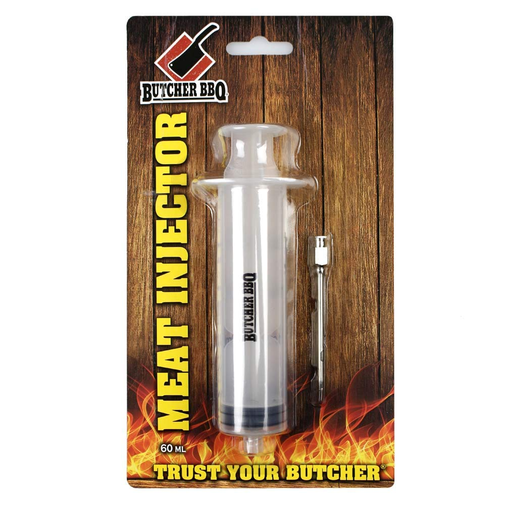 Outstanding Cheap Butcher BBQ Plastic Marinade Injector Meat Screw-on with Syringe