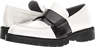 Men's Florentino Box Leather Stripe Ankle-High Loafers & Slip-On