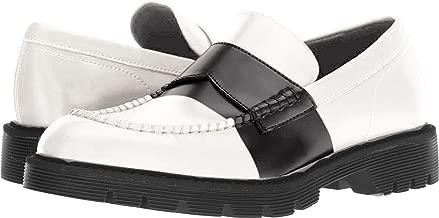 Calvin Klein Men's Florentino Box Leather Stripe Ankle-High Loafers & Slip-On