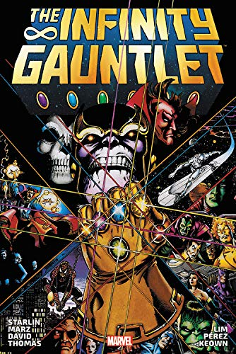 Compare Textbook Prices for Infinity Gauntlet Omnibus  ISBN 9781302926380 by Lim, Ron,Perez, George,Smith, Todd,Raney, Tom,Starlin, Jim,Marz, Ron,Kavanagh, Terry,Nocenti, Ann