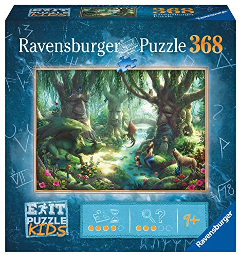 Ravensburger EXIT Puzzle Kids 12955- Der magische Wald - 368 Teile Puzzle für Kinder ab 9 Jahren
