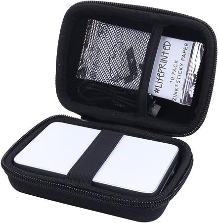 Custodia rigida custodia per stampante foto e video lifeprint vertreter von aenllosi grigio grigio para 2x3
