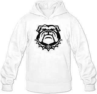 Men's Uga Georgia Bulldogs Black Mascot Logo Hoodies