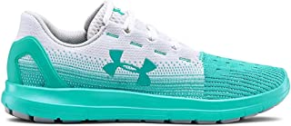 Under Armour Women's Remix 2.0 Sneaker, White (102)/Breathtaking Blue, 8.5