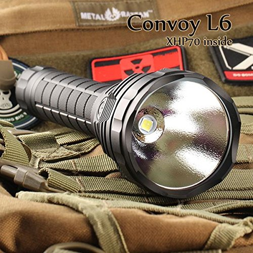 MONSTER CON L6 XHP70 3800 Lumen NW for 2x 26650 Taschenlampe
