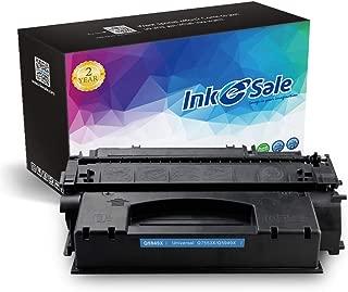 INK E-SALE Compatible Toner Cartridge Replacement for HP 53X Q7553X 49X Q5949X (Black, 1-Pack) for use in HP Laserjet P2015dn P2015 P2015d 1320 1320n 3390 3392 1160 M2727nf P2014 P2010 Printer
