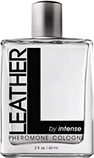 LEATHER by Intense for Men - Pheromone Cologne - 2 Oz Spray