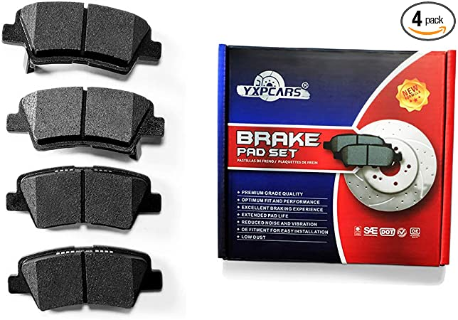 informafutbol.com Beck-Arnley Ceramic Front Rear Brake Pads Kit ...