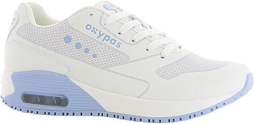 Oxypas Oxysport 'Ela' Trainer (UE 35, blancoo con azul claro)