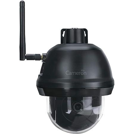 Cameron Pan/Tilt Wi-Fi Camera – Full HD 1080P – Easy Install – Smart Motion Detection – Built Tough – IP66 – View & Talk Live – 2-Way Audio – 24/7 Alerts