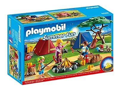Playmobil - 6888 - Tentes + Enfants et Animatrice