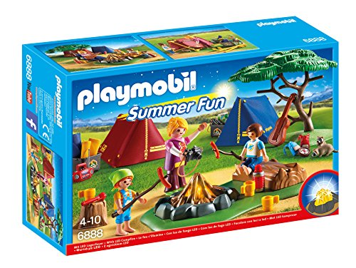 Playmobil Campamento de Verano-6888 Playset, Miscelanea (6888)