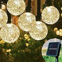 Solar Garden Lights Waterproof Outdoor String Lights
