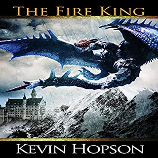 The Fire King audiobook cover art