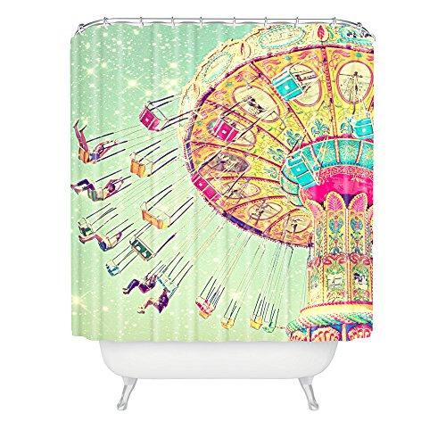DENY Designs Shannon Clark Duschvorhang mit Sternen, 183 x 19,1 cm