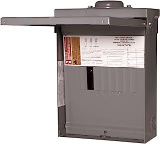 العروات الرئيسية: لوازم كهربائية مربعة D QO 100 أمبير 8-مساحة 16 دائرة في الهواء الطلق مركز تحميل العروة الرئيسية مع غطاء ...