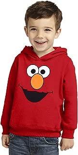 Elmo Face Toddler Hoodie