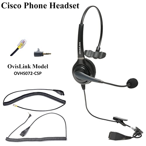 Headsets Compatible With Cisco Phone Amazon Com