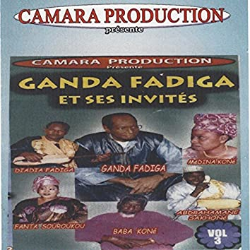 Ganda Fadiga et ses invités, vol. 3 (Live)