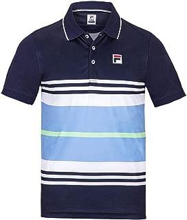 Fila Men`s Legend Striped Tennis Polo ()