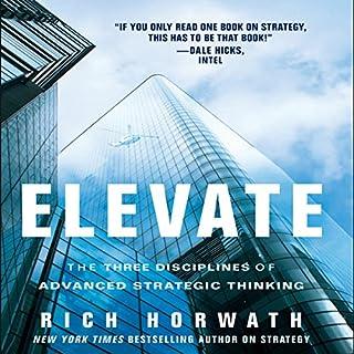 Elevate audiobook cover art