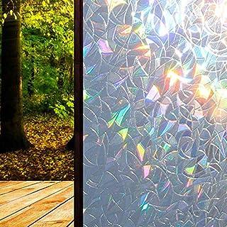 Regenbogen Reflektierend 3D Fenster Folie Dekorativ Privacy Statische Glas