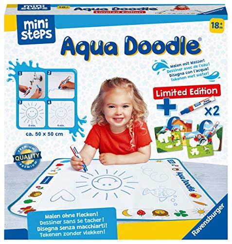 Ravensburger ministeps 4177 Aqua Doodle Limited Edition - Erstes Malen mit Wasser, Fleckenfreier Malspaß für Kinder ab 18 Monaten - Limitierte Ausgabe