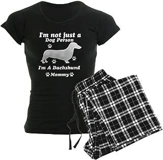 Dachshund Mommy Women's Dark Pajamas Women's PJs