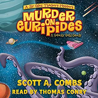 Murder on Euripides audiobook cover art