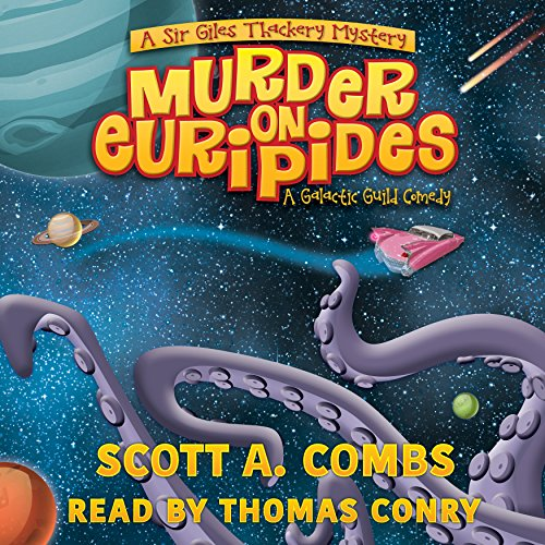 Murder on Euripides audiobook cover art