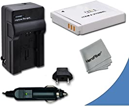 High Capacity Replacement Canon NB-6L / NB-6LH Battery with AC/DC Quick Charger Kit for Canon PowerShot SX260 HS Digital C...
