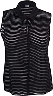 Tommy Hilfiger Women's Contrast-Trim Illusion Top