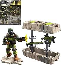 CONSTRUX Close Quarters Weapon Crate Call Duty Mega Figure & Weapons 43 pcs
