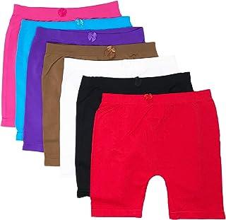 I&S Little Girls Bike Shorts Dance Underwear Sports 6, 12 Packs for Sports Play Or Under Skirts