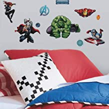 Roommates Avengers Assemble Wall Decal, Multi-Colour, RMK2242SCS