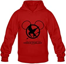Men's The Hunger Games Mockingjay Part 2 Hoodie Red
