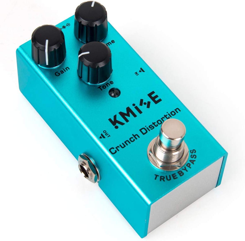 Pedal de efectos para guitarra eléctrica Mini Single Type DC 9 V True Bypass (distorsión cruzada)