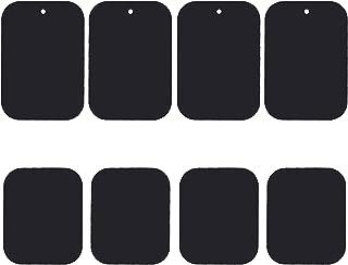 Uuustar Metal Plates for Magnetic Mount, 8PACK Metal Plates with Full Adhesive for Magnetic Car Mount Phone Holder