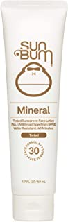 Sun Bum Mineral SPF 30 Tinted Sunscreen Face Lotion | Vegan and Reef Friendly (Octinoxate & Oxybenzone Free) Broad Spectru...