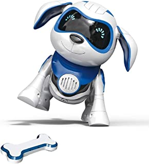 (Bb-1) - Yeezee Interative Little Baby Pup with Magent Bone, Walking Talking Remote Control Dog, Robot Pet for Kids/Boys/G...