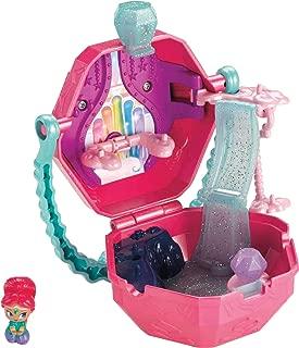 Fisher-Price Nickelodeon Shimmer & Shine, Teenie Genies Rainbow Zahramay On-the-Go Playset