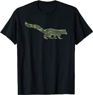Military Mongoose Camo Print US Mustelid Veteran Men Gift T-Shirt