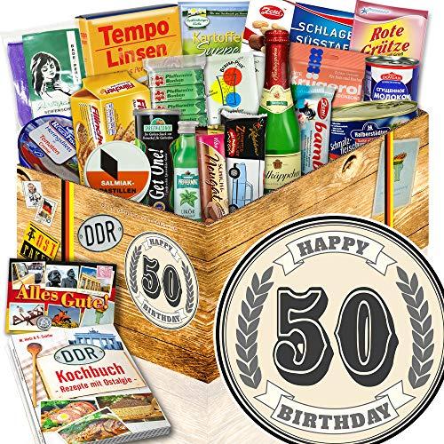 50. Geburtstag / 50 Geburtstag Geschenke / Geschenkidee DDR Spezialitäten