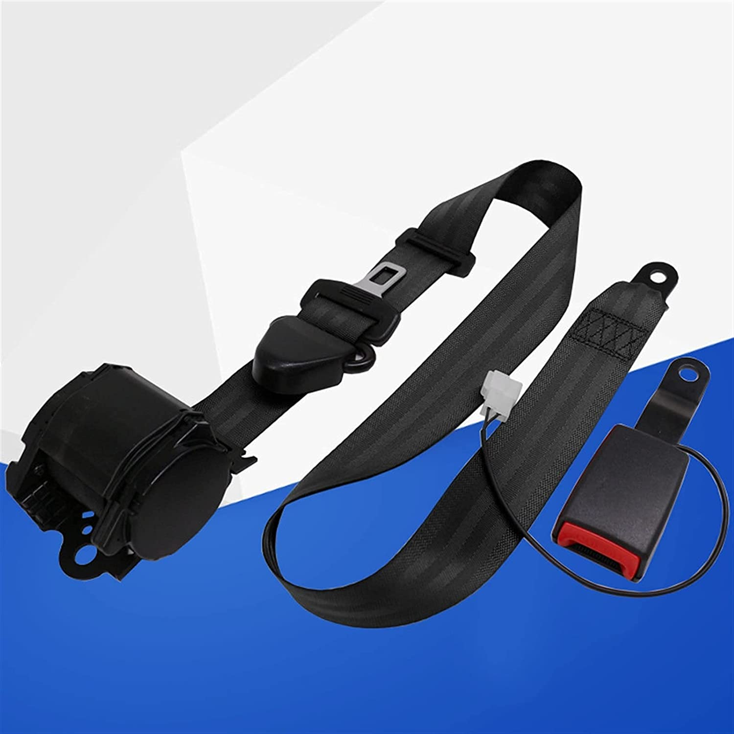Finally resale start PARTAS Adjusters Lap Safety Limited time for free shipping Belt Buc Curved with Seatbelts Rigid