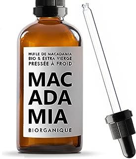 Biorganique - Aceite de macadamia 100% orgánico, puro y natural