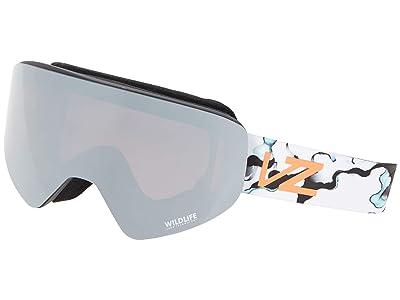 VonZipper Encore (Gloss/Wildlife Rose Silver Chrome) Goggles