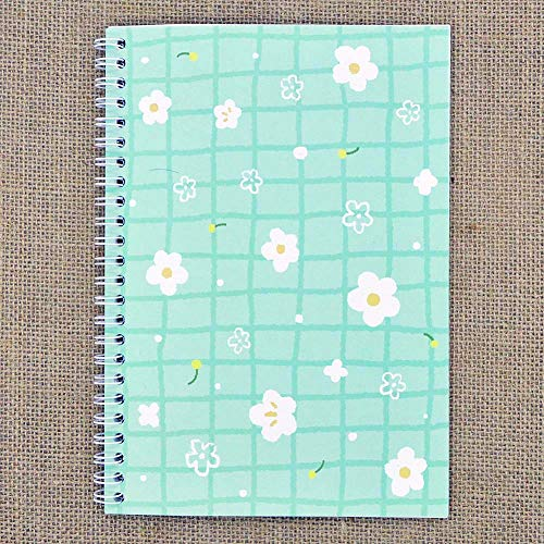 SUNNYHILL Sticker Collecting Album Reusable Sticker Book Won't Harm Stickers 30 Sheets 8.3' x 5.8' (Little Flowers)
