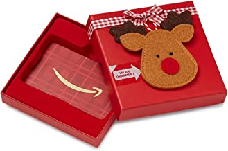 Amazon.com Gift Card in a Holiday Style Gift Box (Various Designs)