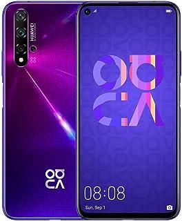 "HUAWEI Nova 5T (128GB, 6GB) 6.26"" LCD, Kirin 980, 48MP Quad Camera, 22.5W Fast Charge, Dual SIM GSM Unlocked Global 4G LTE..."
